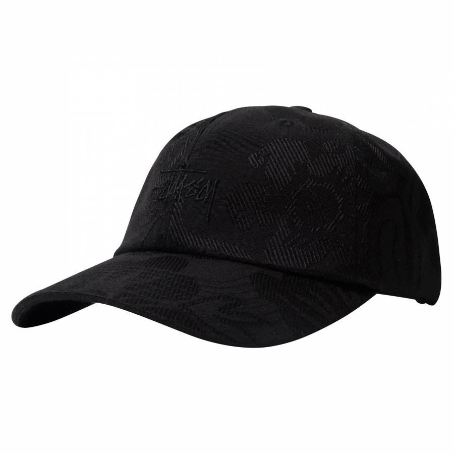 Stussy Jacquard Hawaiinan Low Pro Cap - Black