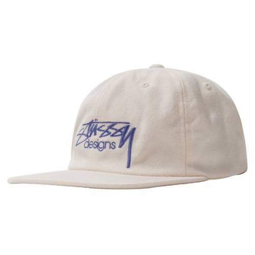 Stussy Designs Cap - White