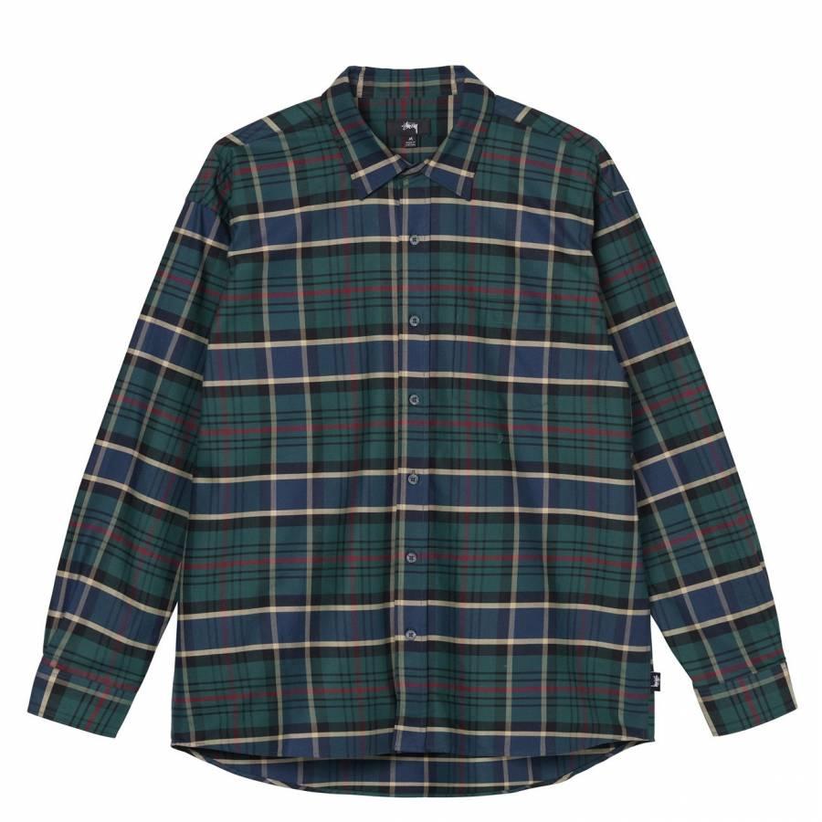 Stussy Classic Oxford Shirt Button Down - Plaid