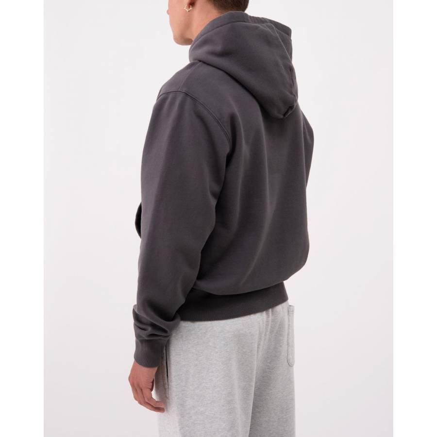 Stussy Smooth Stock Printed Hood - Black