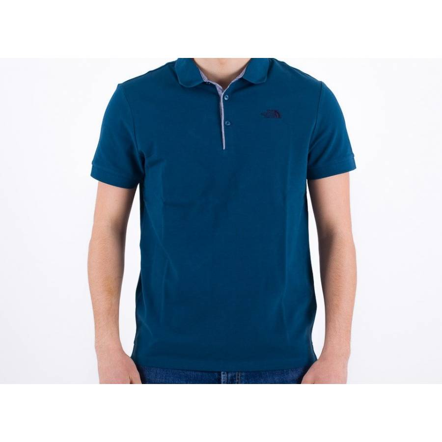 The North Face Polo Piquet - Monterey Blue