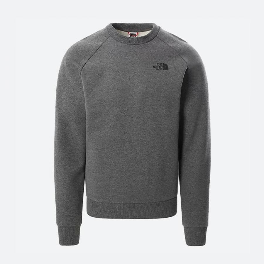 The North Face Sweatshirt Raglan Redbox - Grey