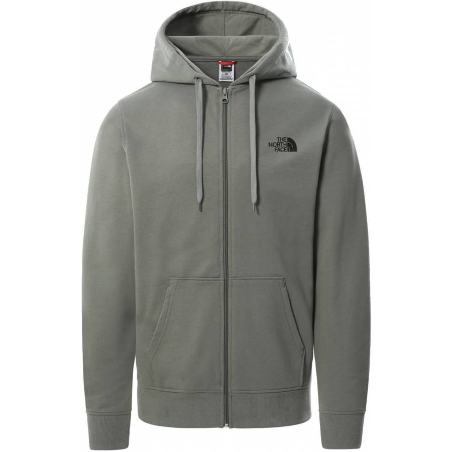 The North Face Open Gate Fz Hoodie Light Agave - G...