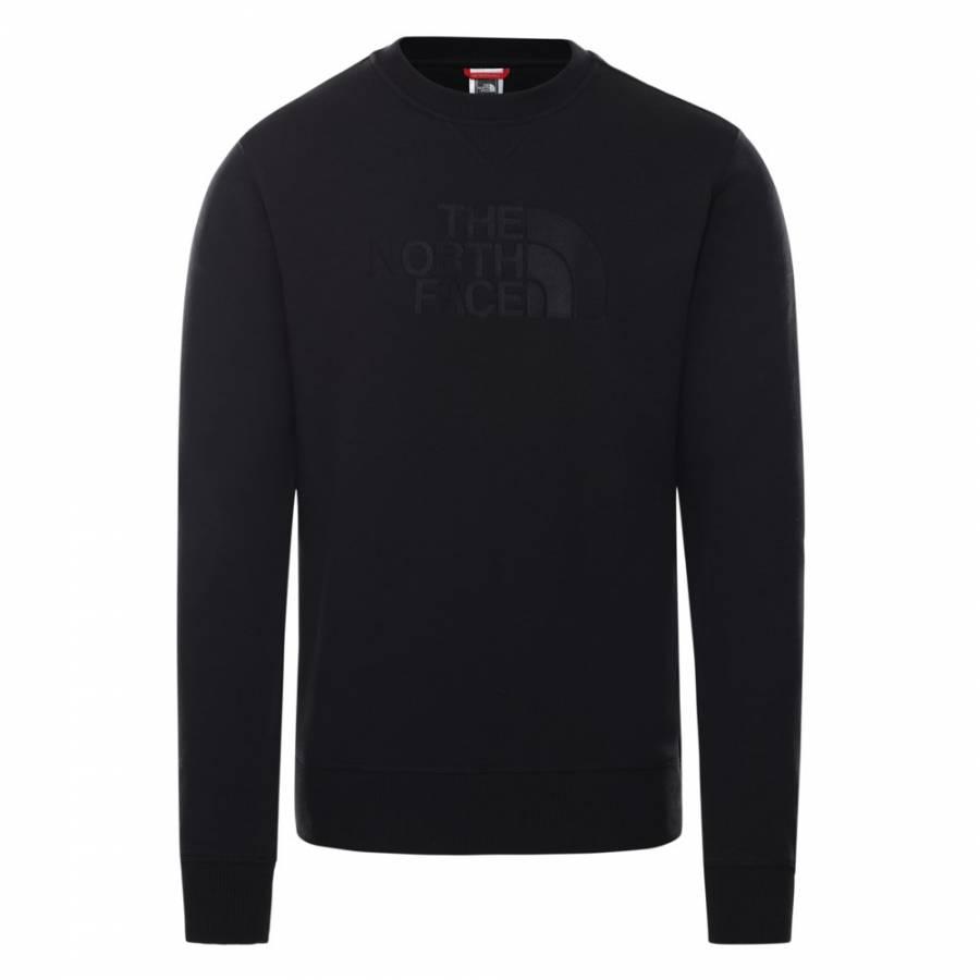 The North Face Sweatshirt Drew Peak Light -  Black