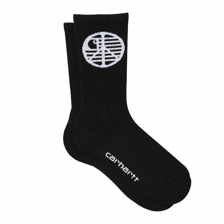 Carhartt Insignia Socks - Black / White