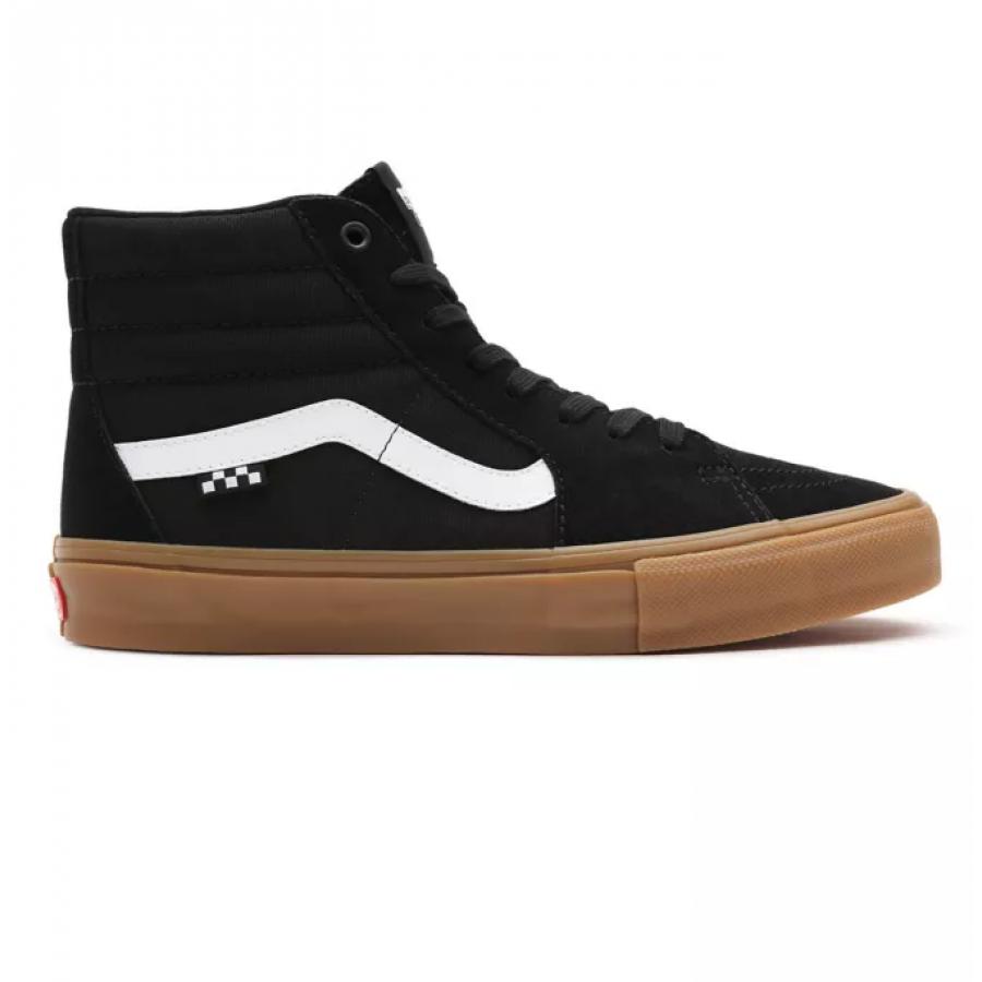 Vans Skate SK8-HI - Black / Gum