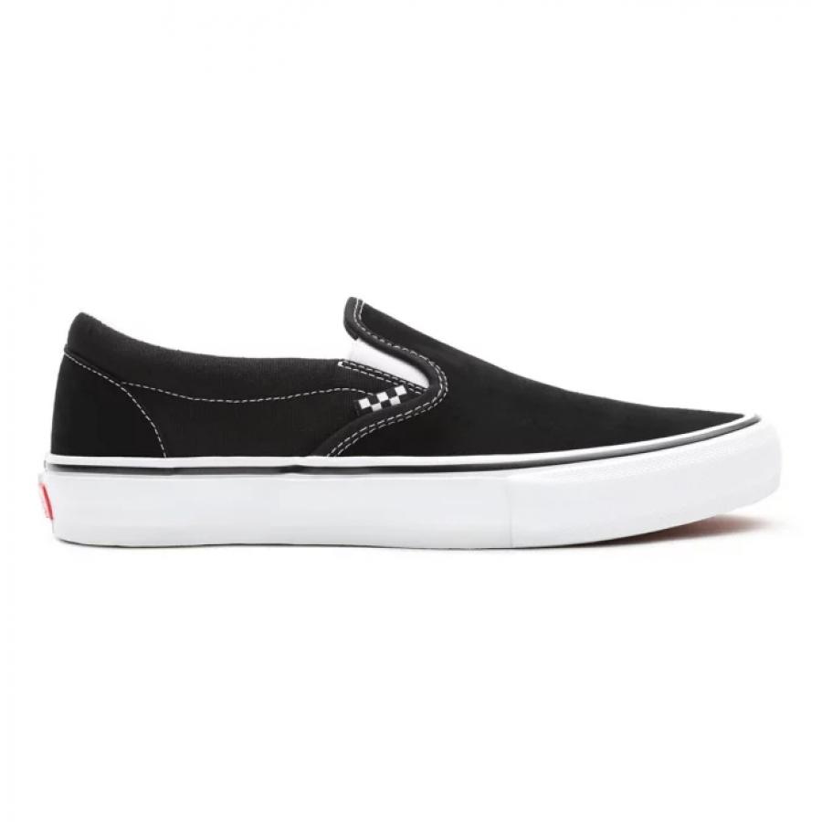 Vans Skate Slip On Shoes - Black / White