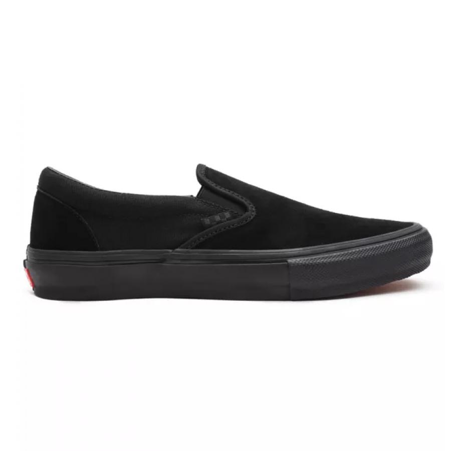 Vans Skate Slip On Shoes - Black / Black