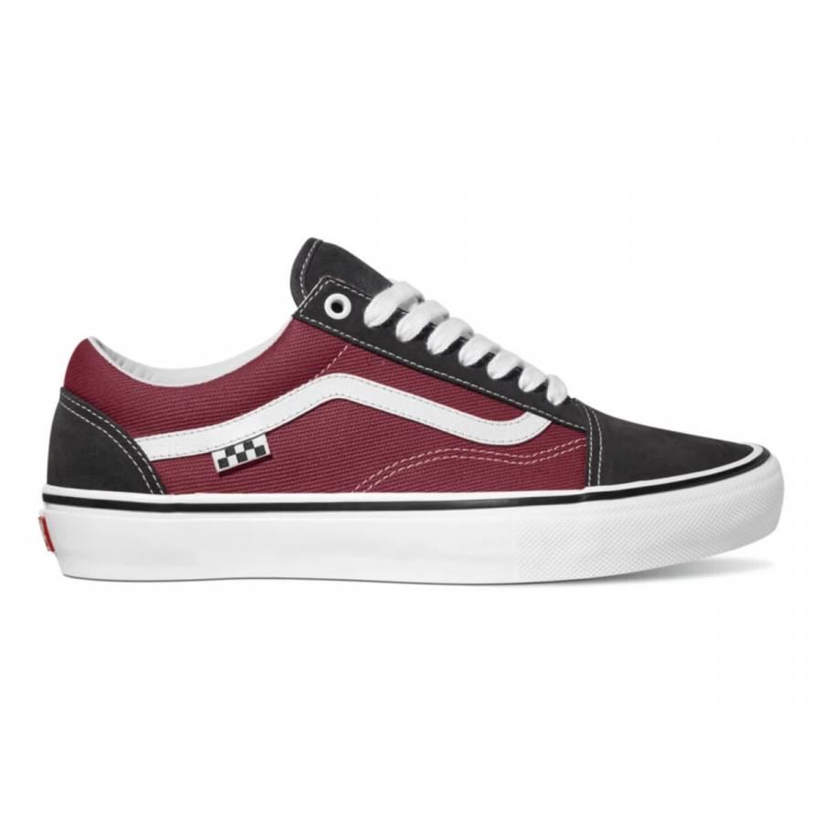 Vans Skate Old Skool - Asphalt / Pomegranate