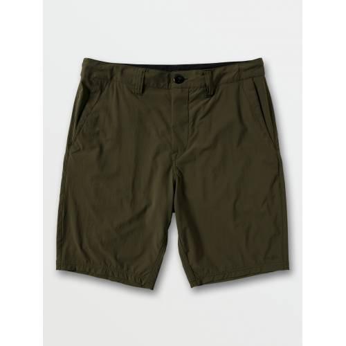 Volcom Bohnes Hybrid Shorts - Military
