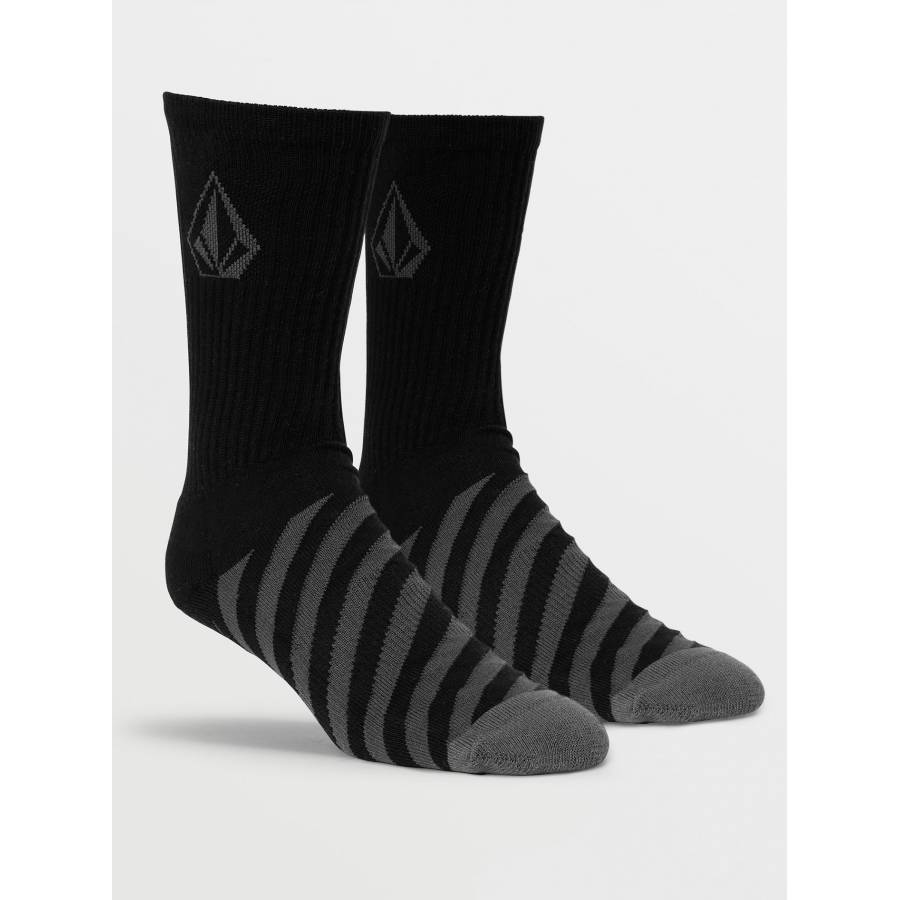Volcom Vibes Socks - Ashpalt Black