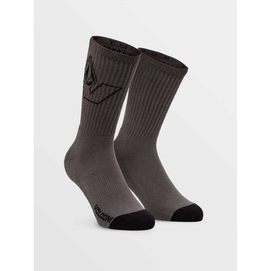 Volcom Vibes Socks - Pewter