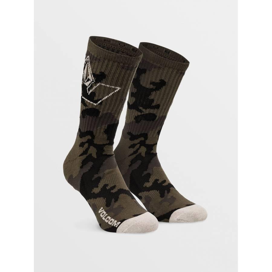 Volcom Vibes Socks - Military