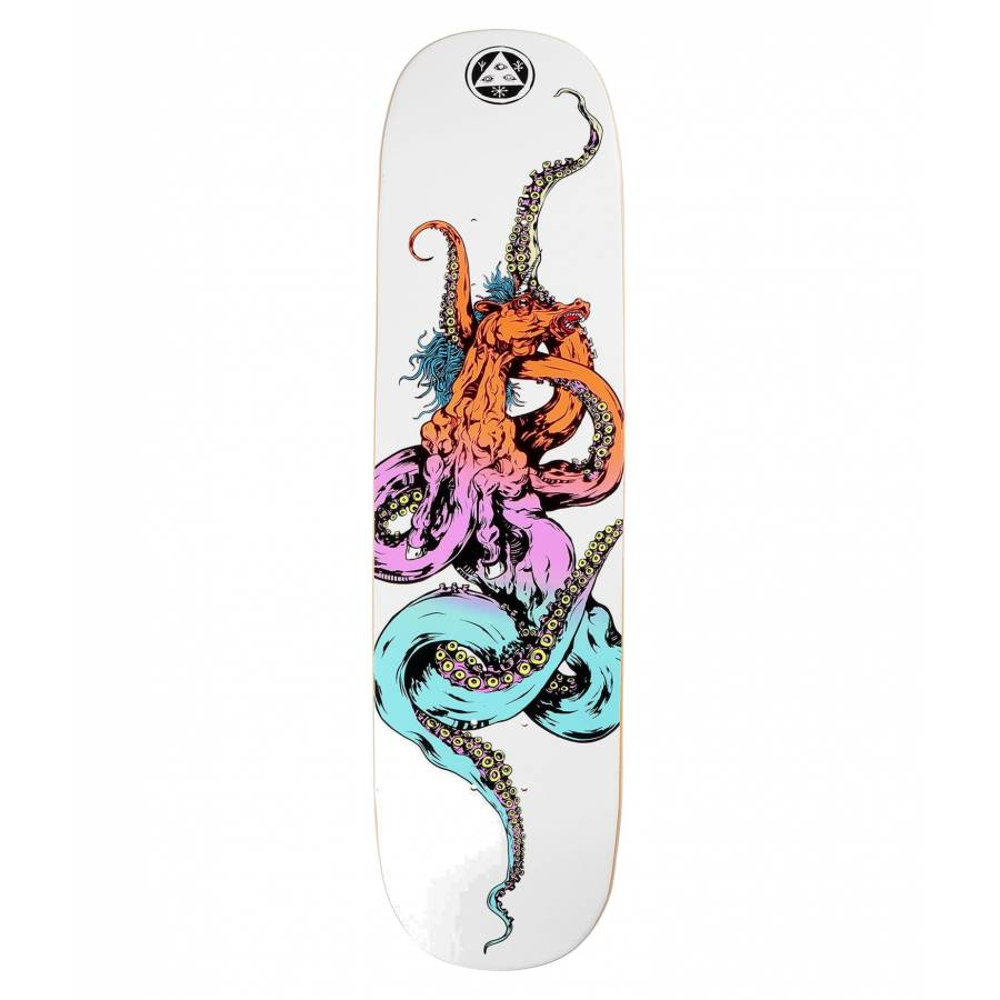 Welcome Seahorse Deck - White Prism - 8.125