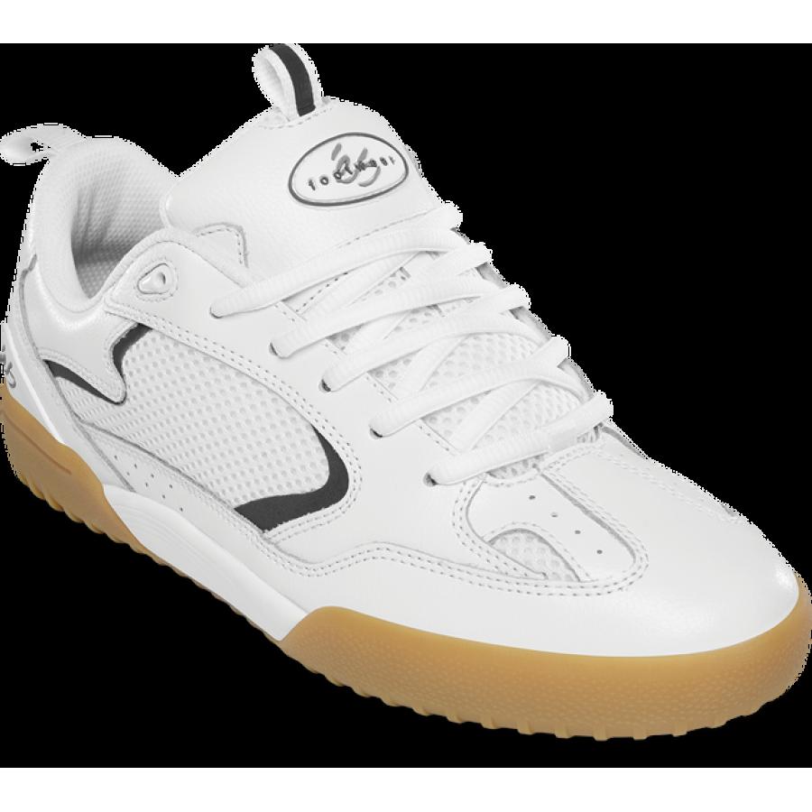 És Skateboarding Quattro Shoes - White/Gum