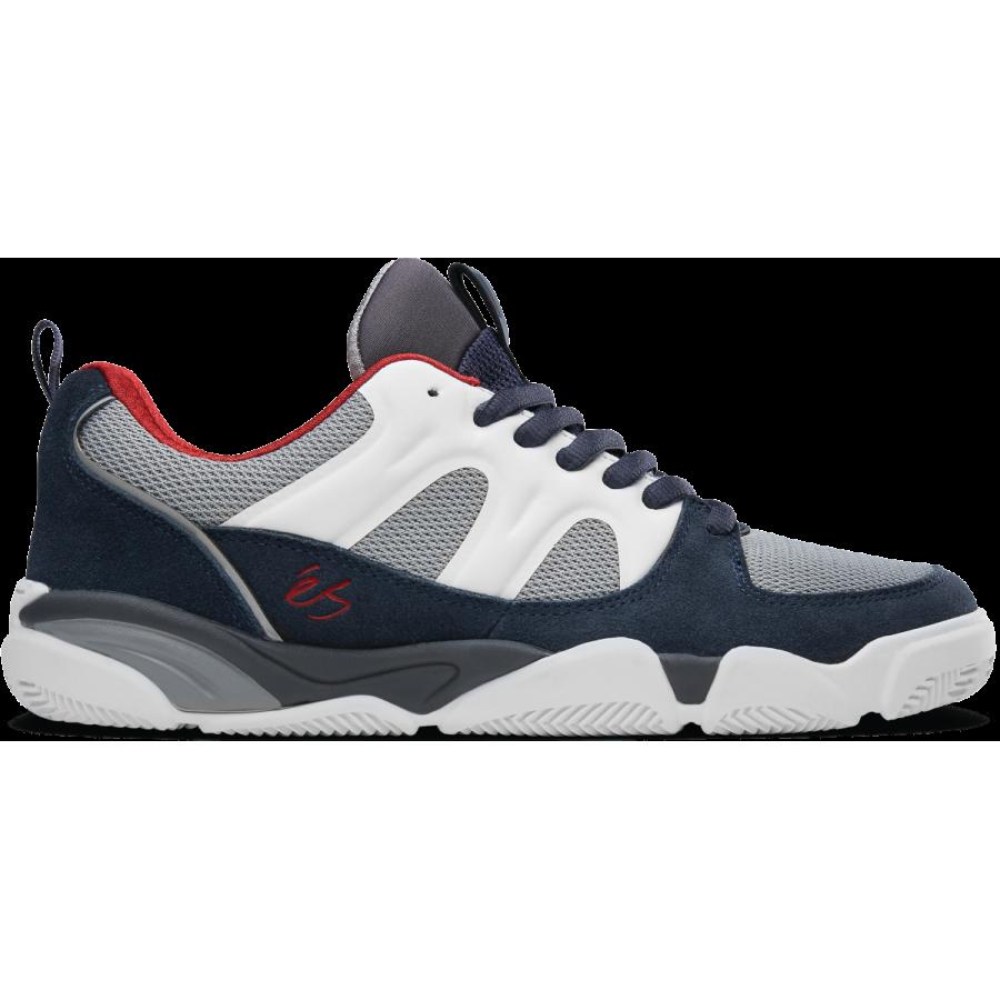 És Skateboarding Silo Shoes - Navy / White / Grey
