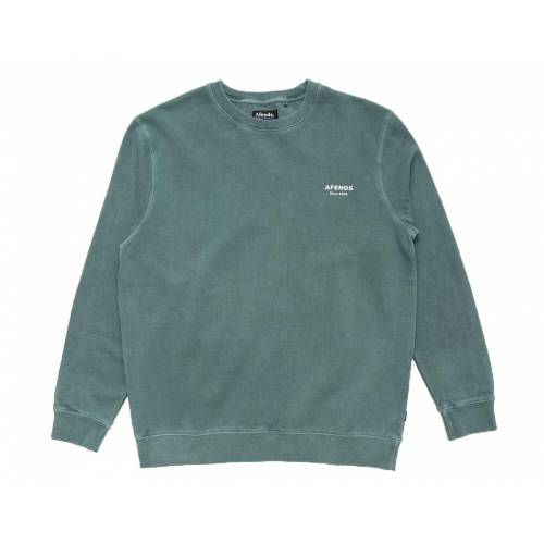 Afends OG Crew Neck Sweat - Pine