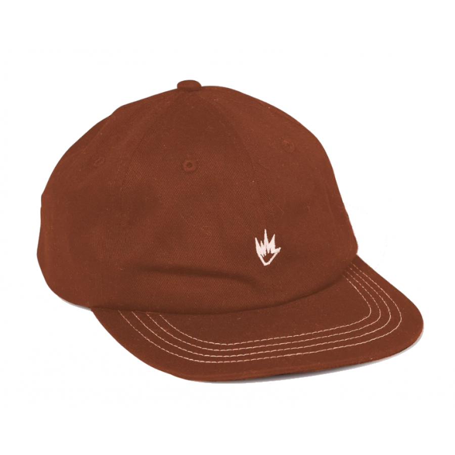 Afends Flame III Soft Brim 6 Panel Cap - Impala