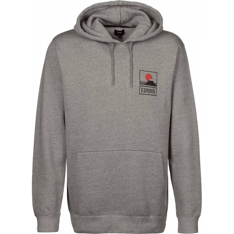 Edwin Sunset on Mt. Fuji Popover Hoody Sweatshirt ...