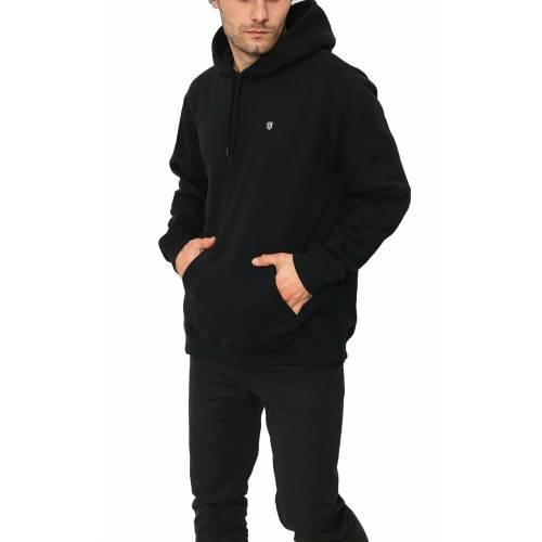 Brixton B Shield Intl Hoodie Sweatshirt - Black