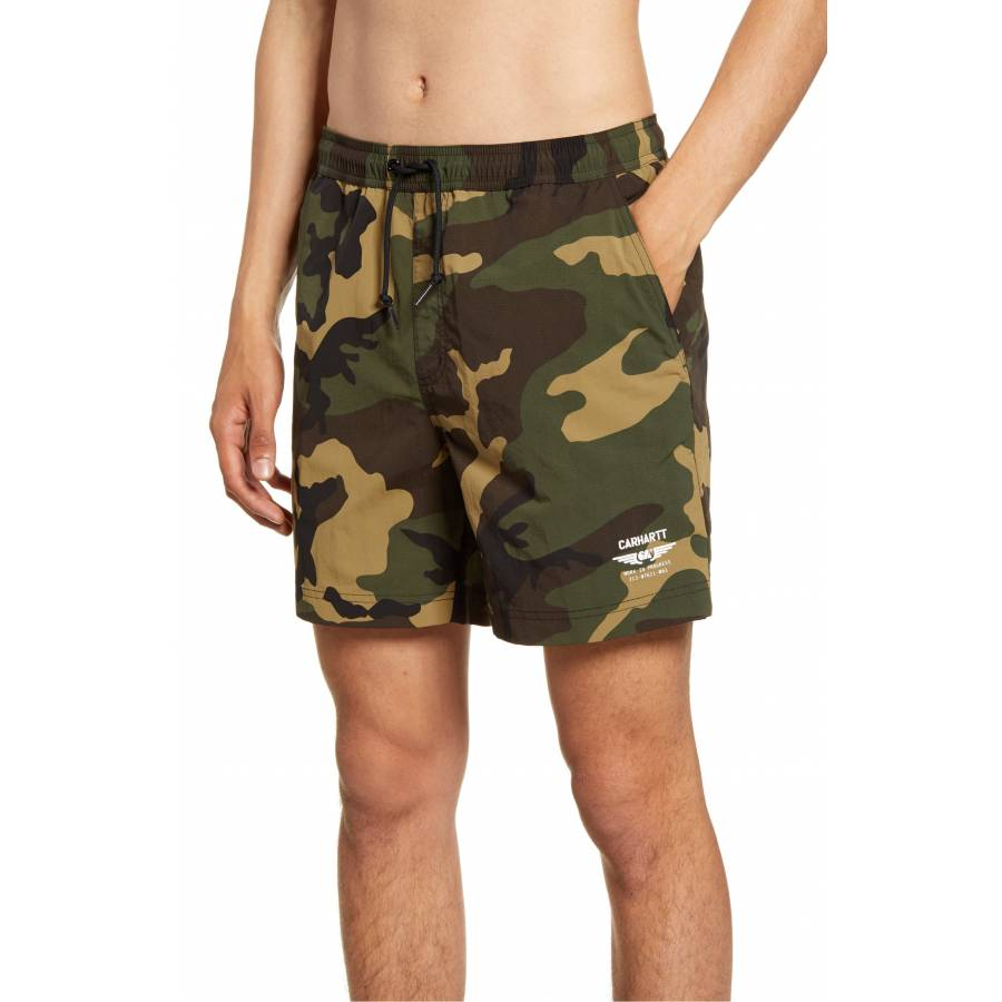 Carhartt CA Wings Swim Trunk - Camo