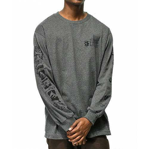 Emerica New Low Long Sleeve Tee - Grey