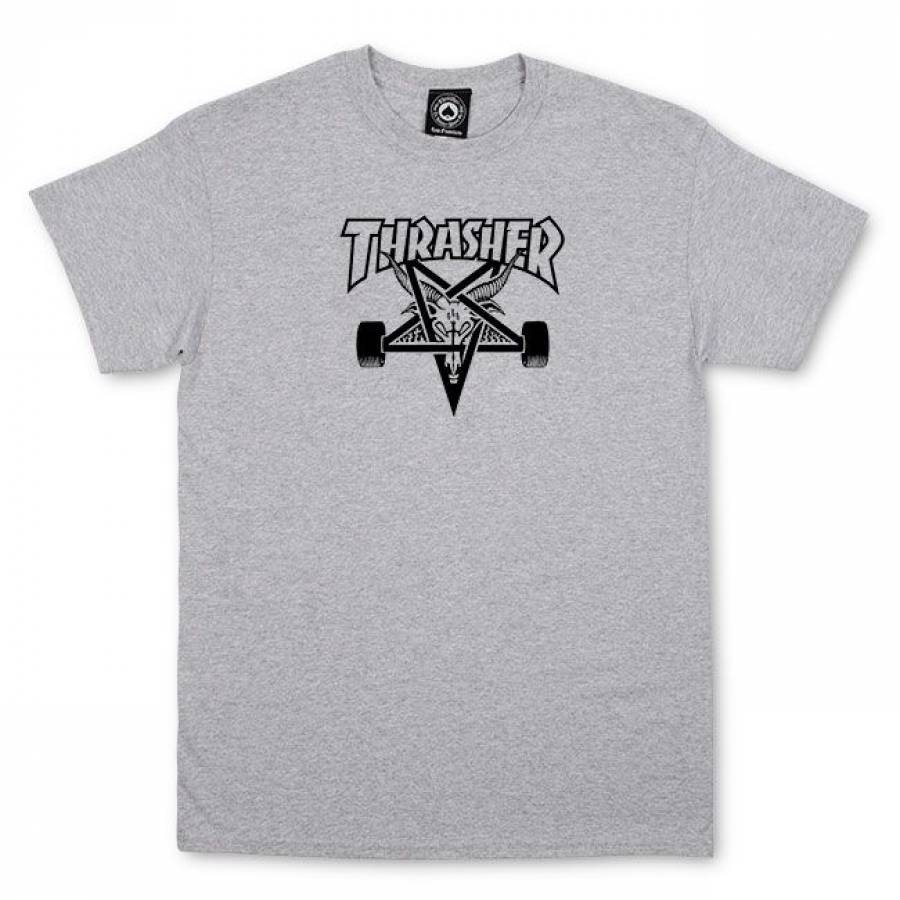 Thrasher Skategoat T-Shirt - Gray
