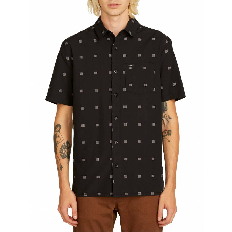 Volcom Morty Short Sleeve Shirt - Black