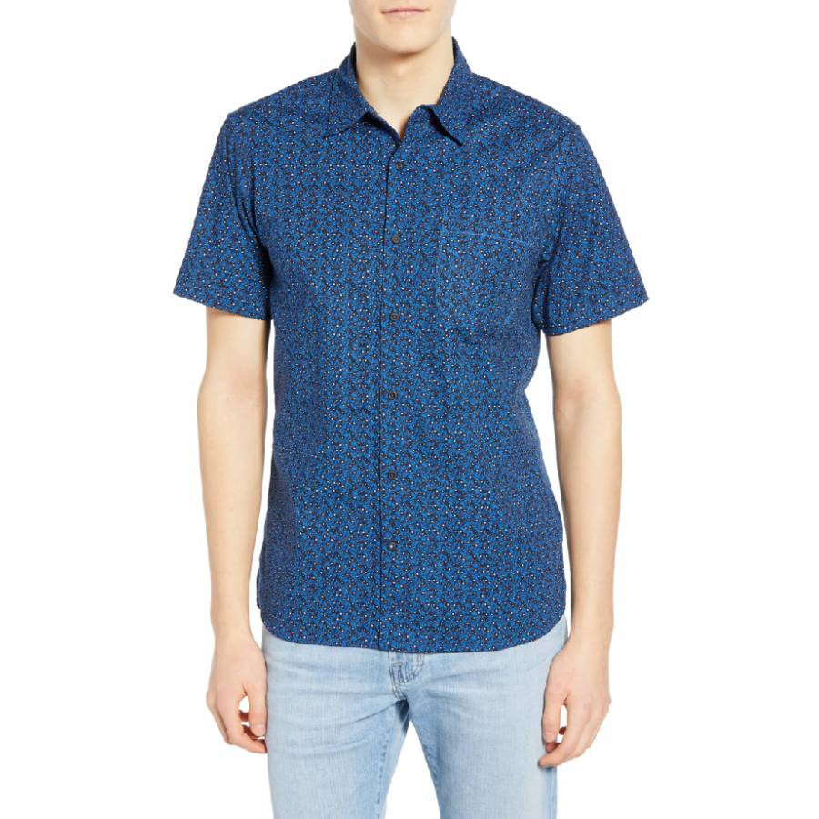 Hurley M Makaha Shirt - Royal