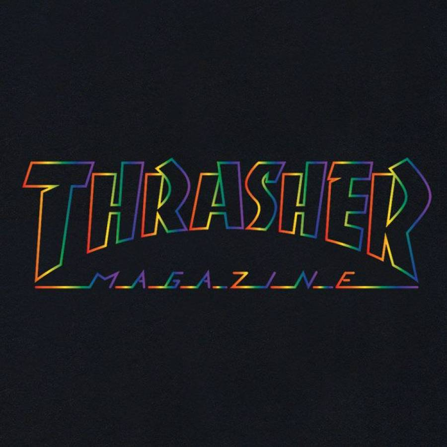 Thrasher Spectrum Tee - Black