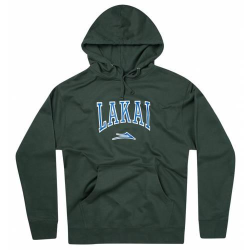 Lakai Varsity Pullover Hoodie - Alpine Green