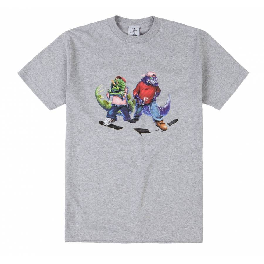 Alltimers Fossil Gang Tee - Heather Grey