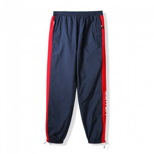 Butter Goods Runner Tracksuit Pant - Navy / Red