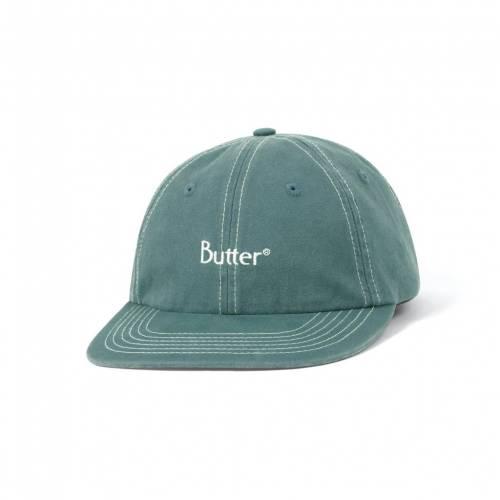 Butter Goods Stitch 6 Panel Cap - Spruce