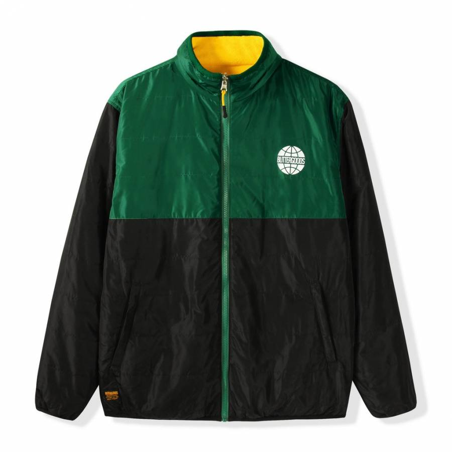 Butter Goods Arctic Reversible Puffer Jacket - For...