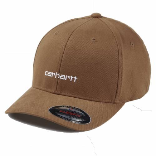 Carhartt Script Cap - Hamilton Brown/White