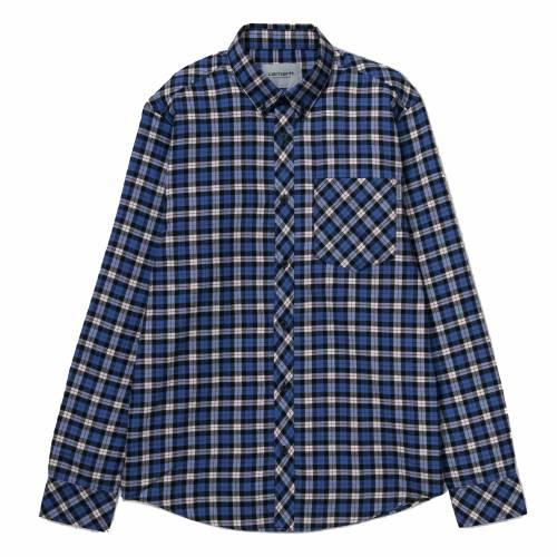 Carhartt L/S Lanark Shirt - Lanark Check / Regatta