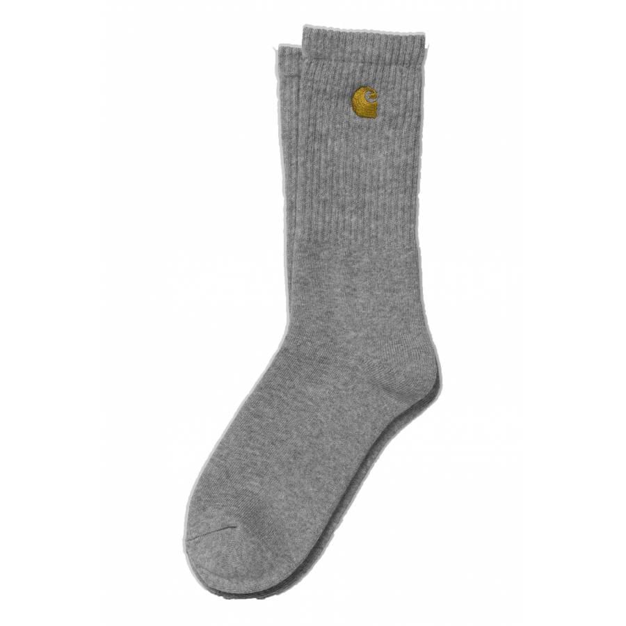 Carhartt Chase Socks - Grey Heather/Gold