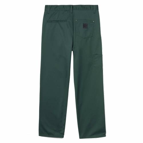 Carhartt x Pass Port Pall Pant - Bottle Green (Rinsed)