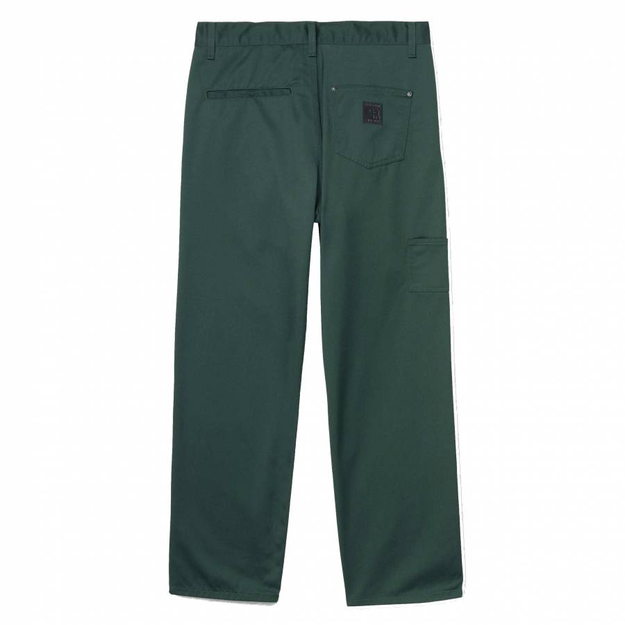 Carhartt x Pass Port Pall Pant - Bottle Green (Rin...