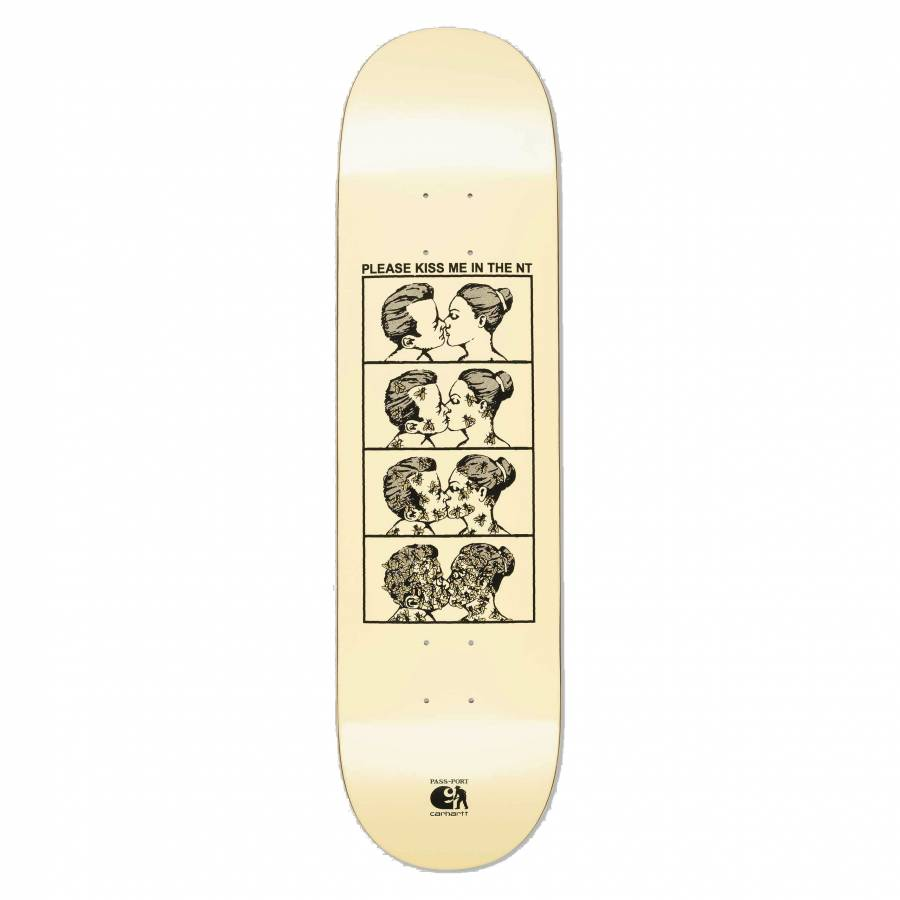 Carhartt x Pass Port Kiss Me Board - Ivory