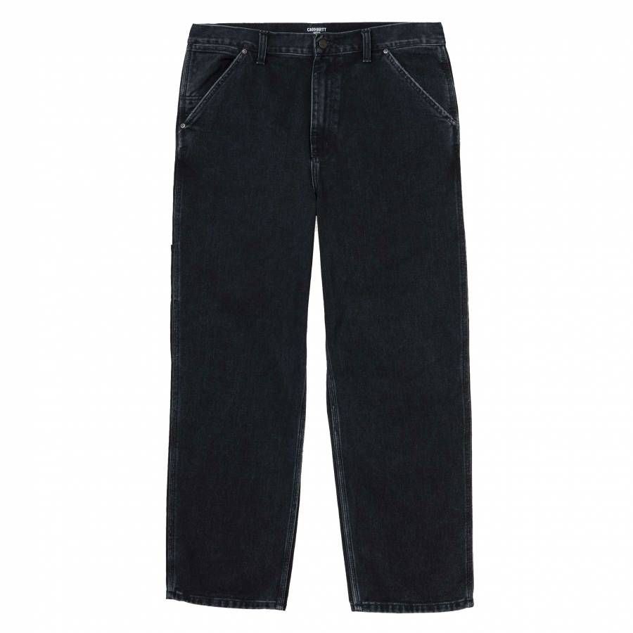 Carhartt x Pass Port Pall Pant - Black (Stone Washed)