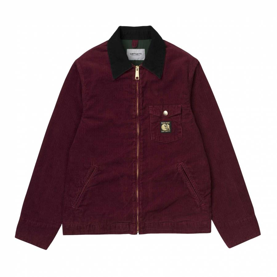 Carhartt X Pass Port Jacket - Burnt Red (Rinsed)