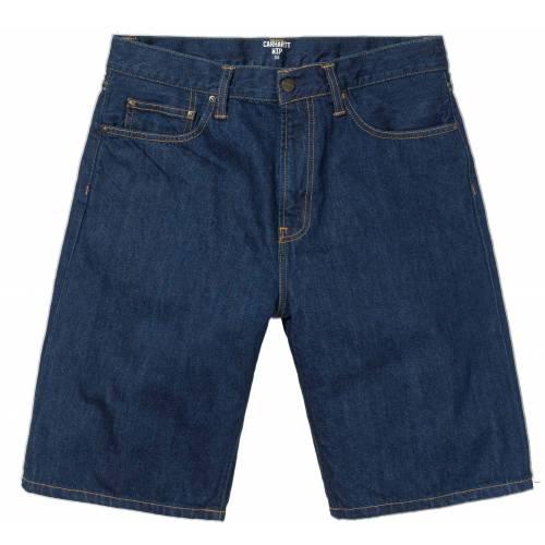 Carhartt Pontiac Shorts - Blue (Rinsed)