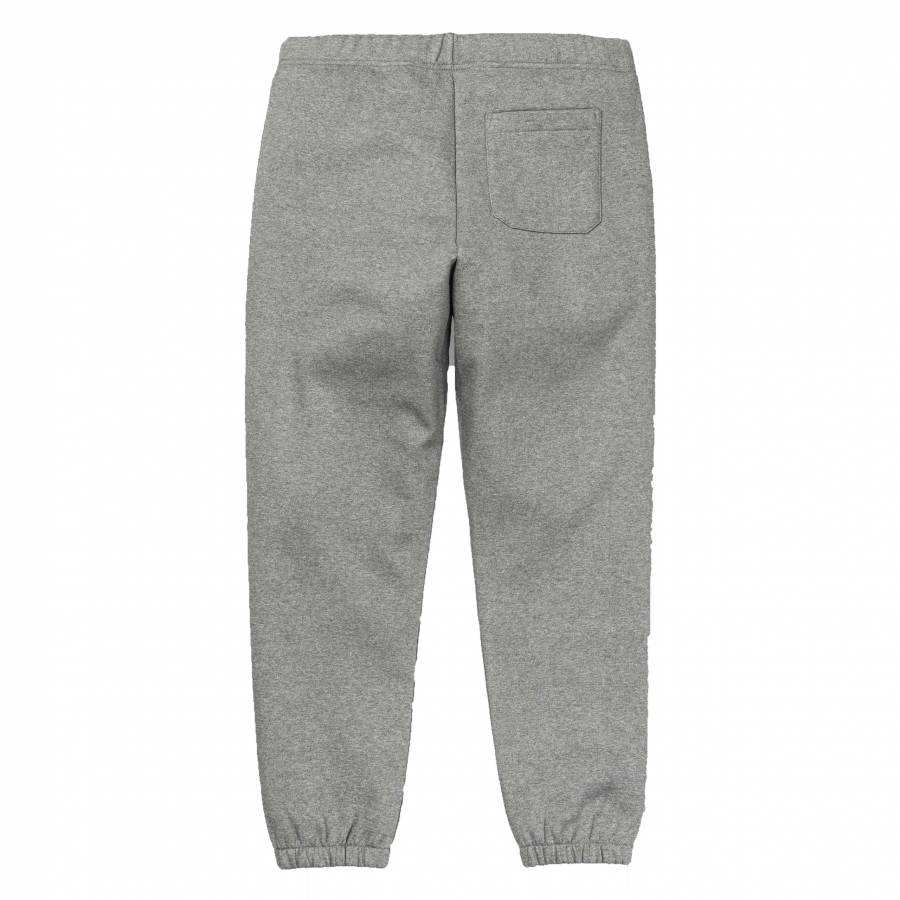 Carhartt Chase Sweat Pant - Dark Grey Heather/Gold