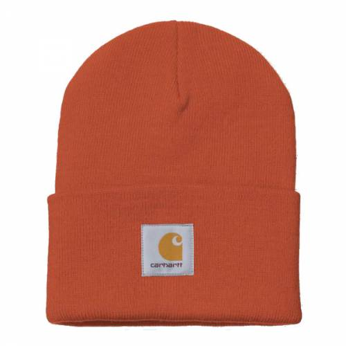 Carhartt Acrylic Watch Hat - Brick Orange