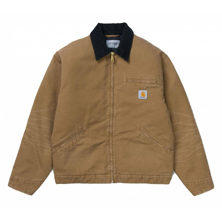 Carhartt OG Detroit Jacket - Hamilton Brown / Blac...