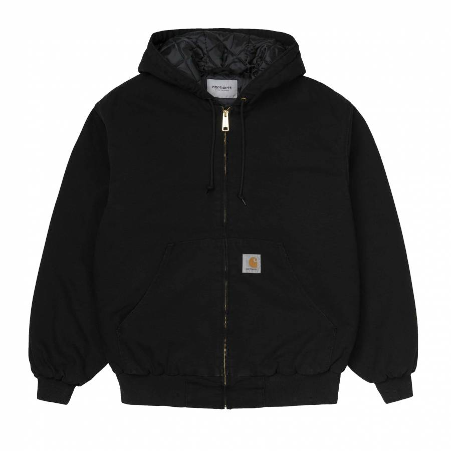 Carhartt OG Active Jacket - Black (age canvas)