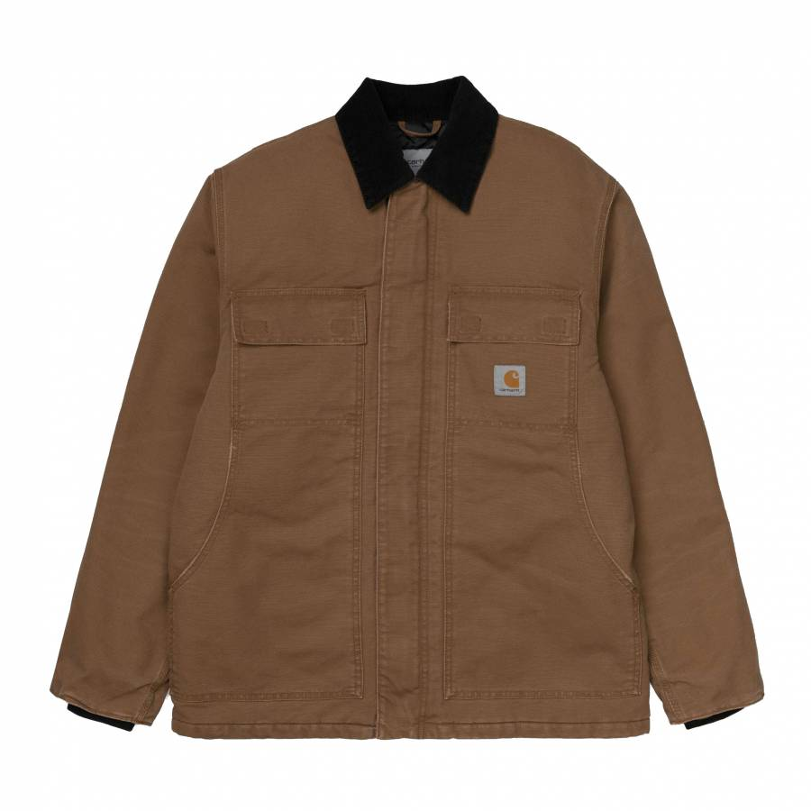Carhartt OG Arctic Coat - Hamilton Brown / Black (...