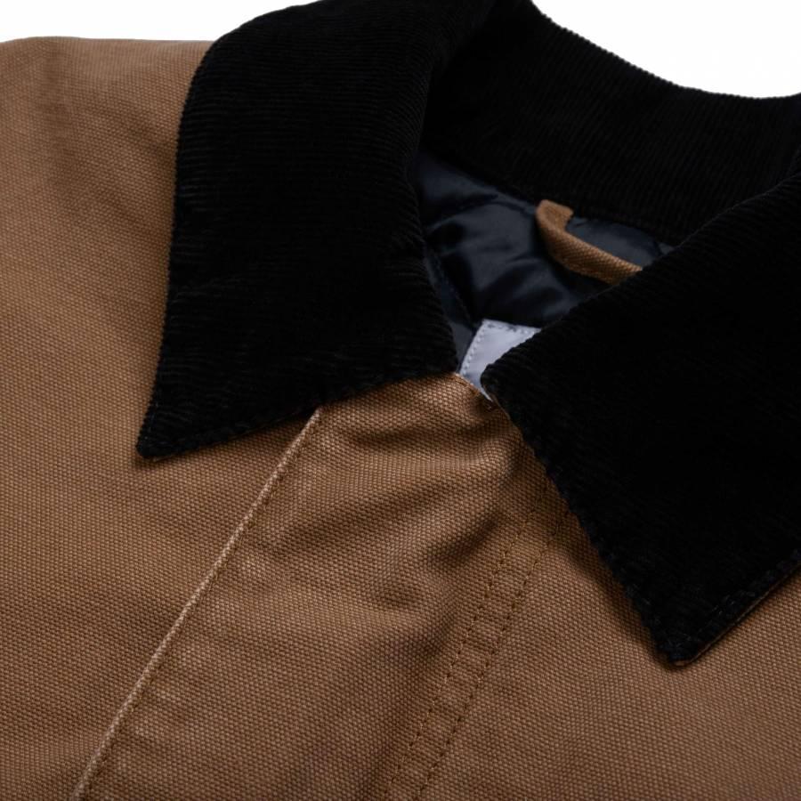 Carhartt OG Arctic Coat - Hamilton Brown / Black (aged canvas)